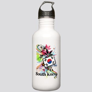 Flower South Korea Stainless Water Bottle 1.0L
